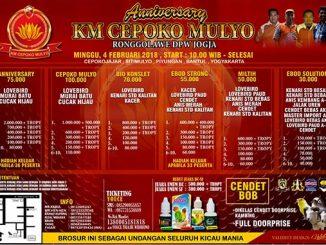 Anniversary KM Cepoko Mulyo