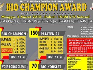 Bio Champion Award