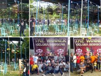 Launching Lapangan Gelora Berkicau