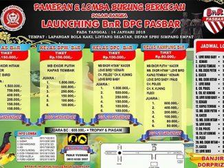 Launching BnR DPC Pasbar