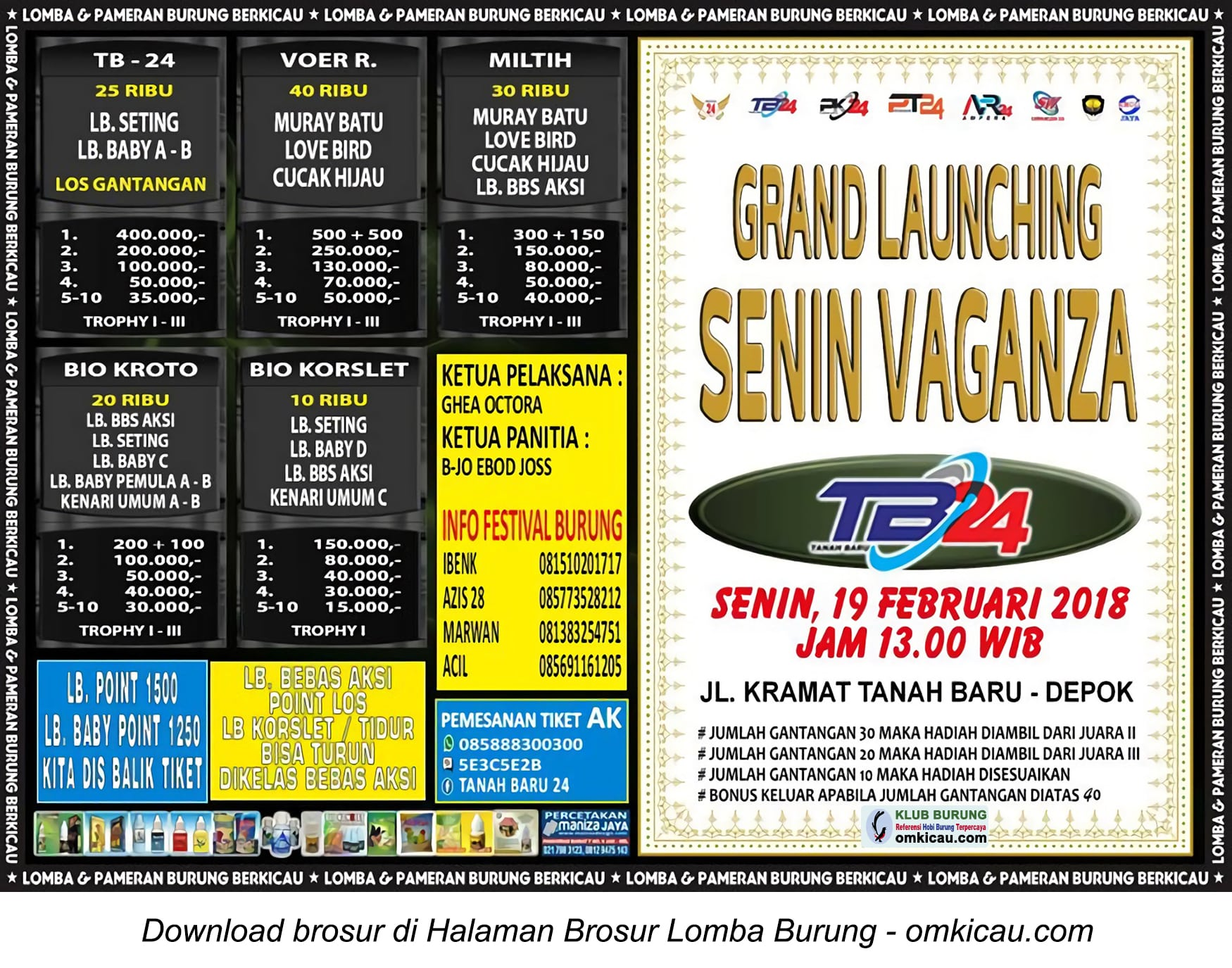 Grand Launching Senin Vaganza