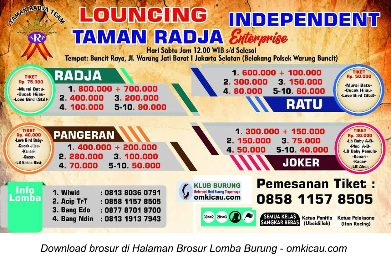 Taman Radja Enterprise Independent