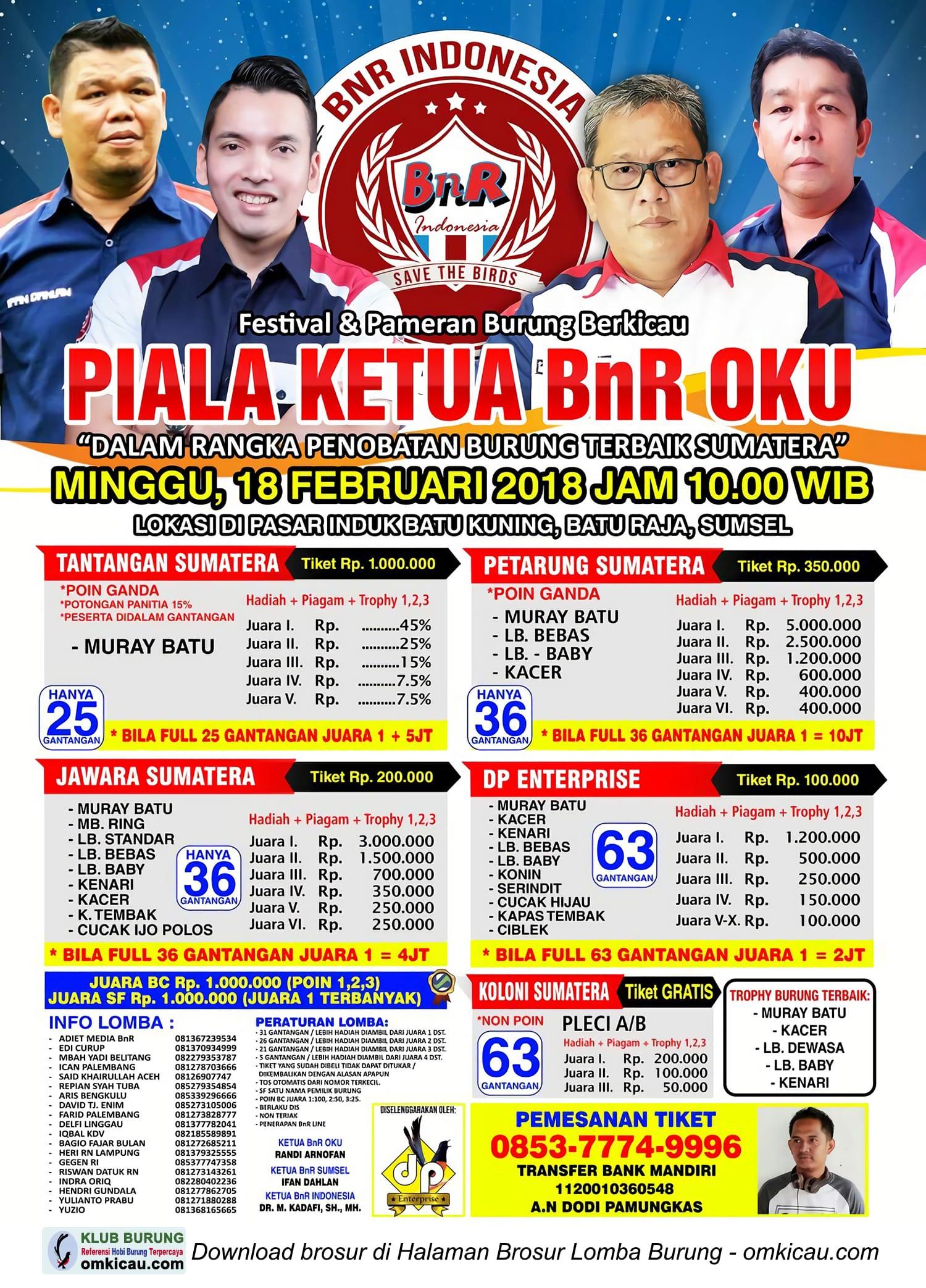 Piala Ketua BnR OKU