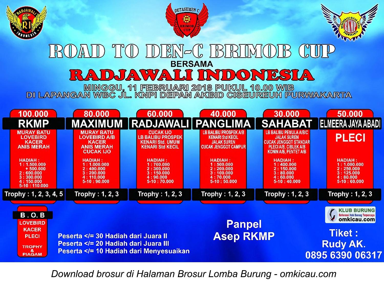Road to Den-C Brimob Cup