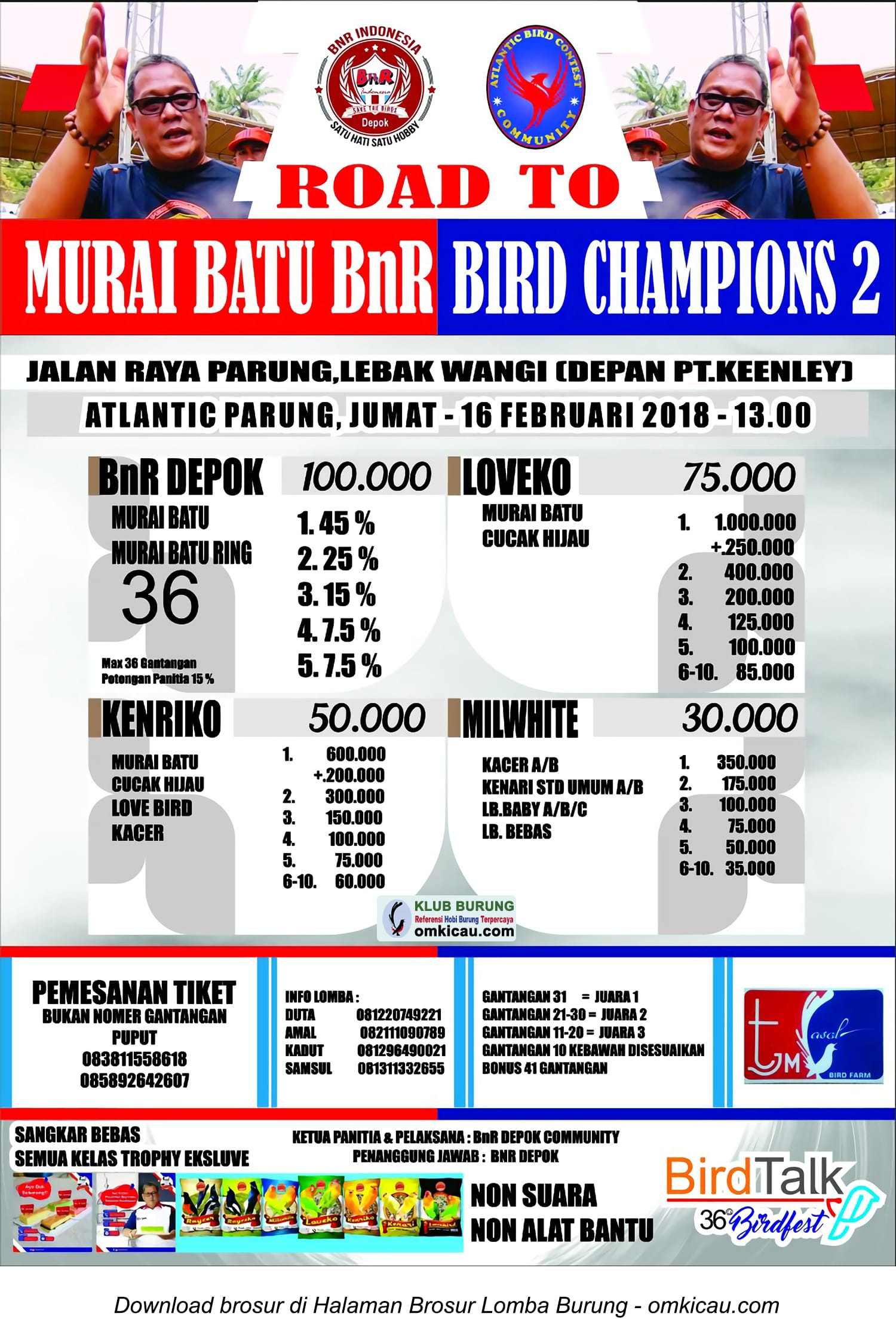 Road to Murai Batu BnR Award