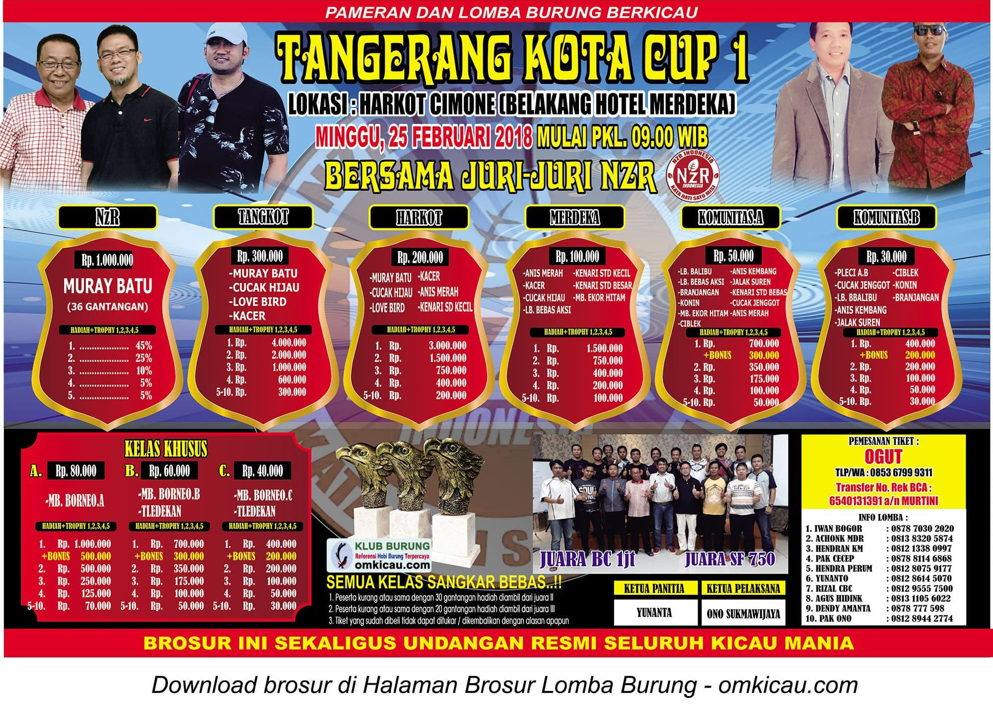 Tangerang Kota Cup 1