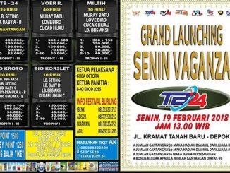 Grand Launching Senin Vaganza