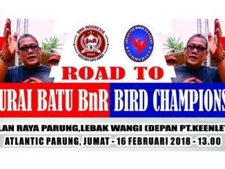 Road to Murai Batu BnR Bird Champions 2