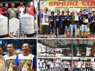 hasil lomba Samuri Cup
