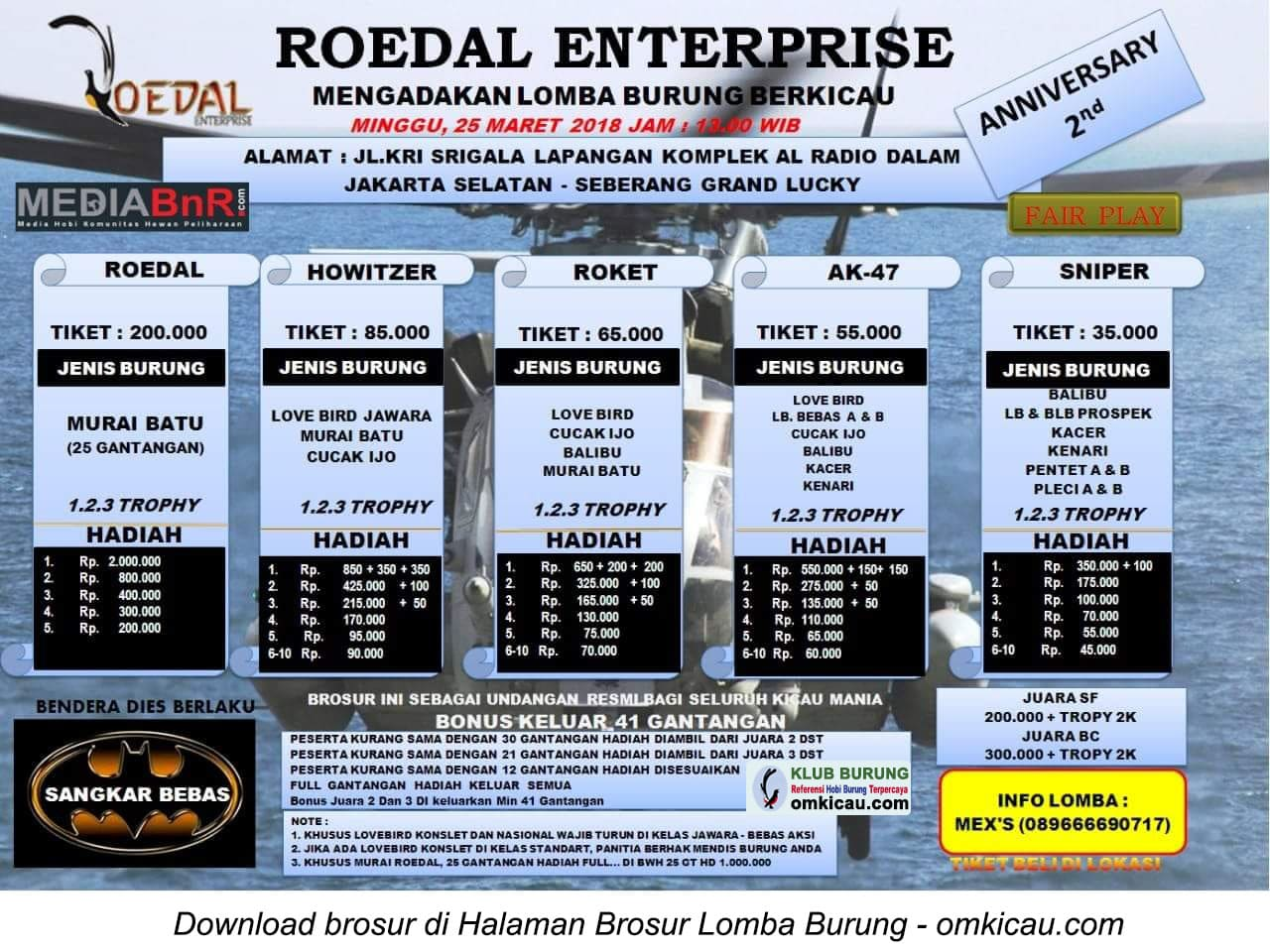 2nd Anniversary Roedal Enterprise