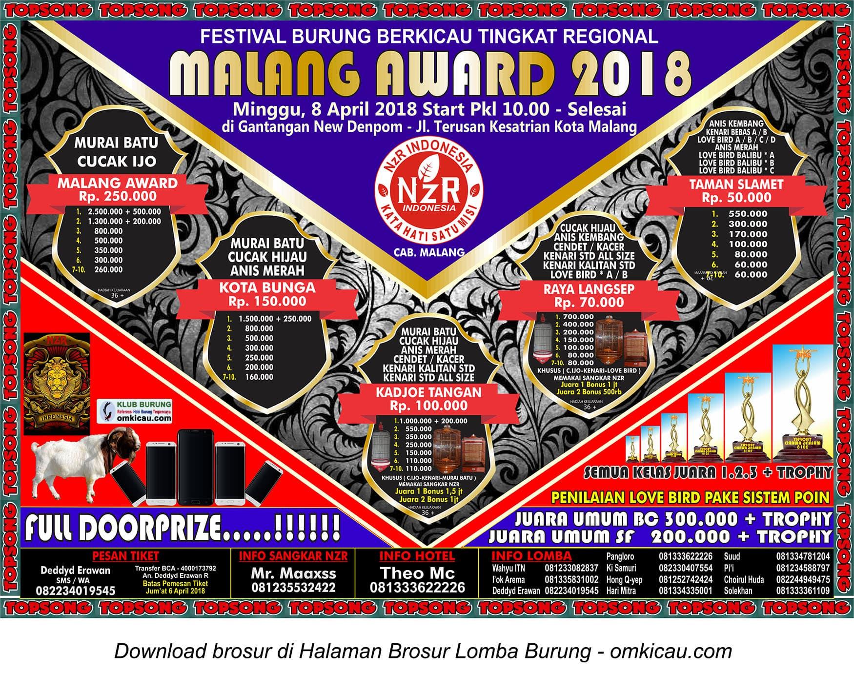 Malang Award 2018