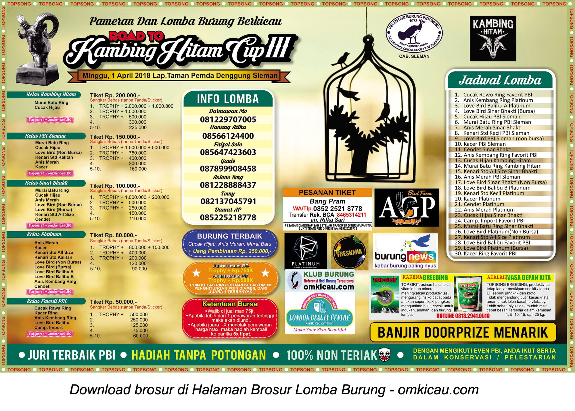 Road to Kambing Hitam Cup III