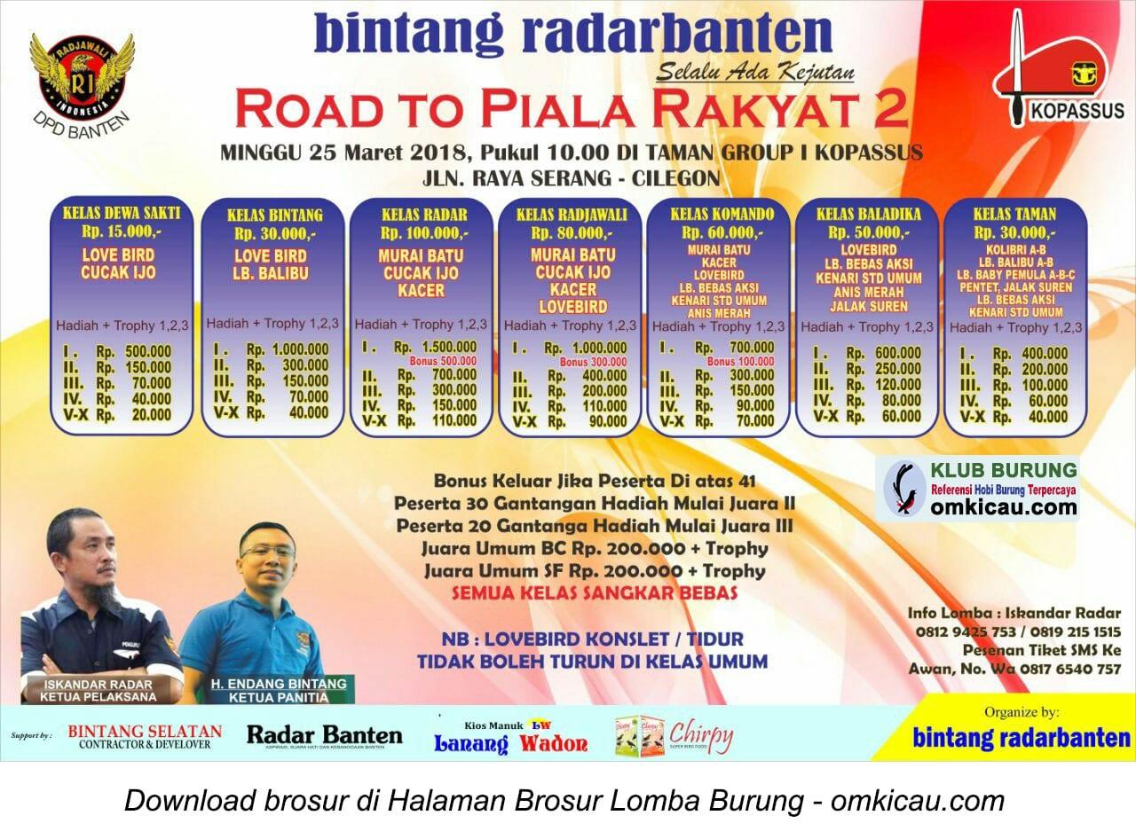 Road to Piala Rakyat 2
