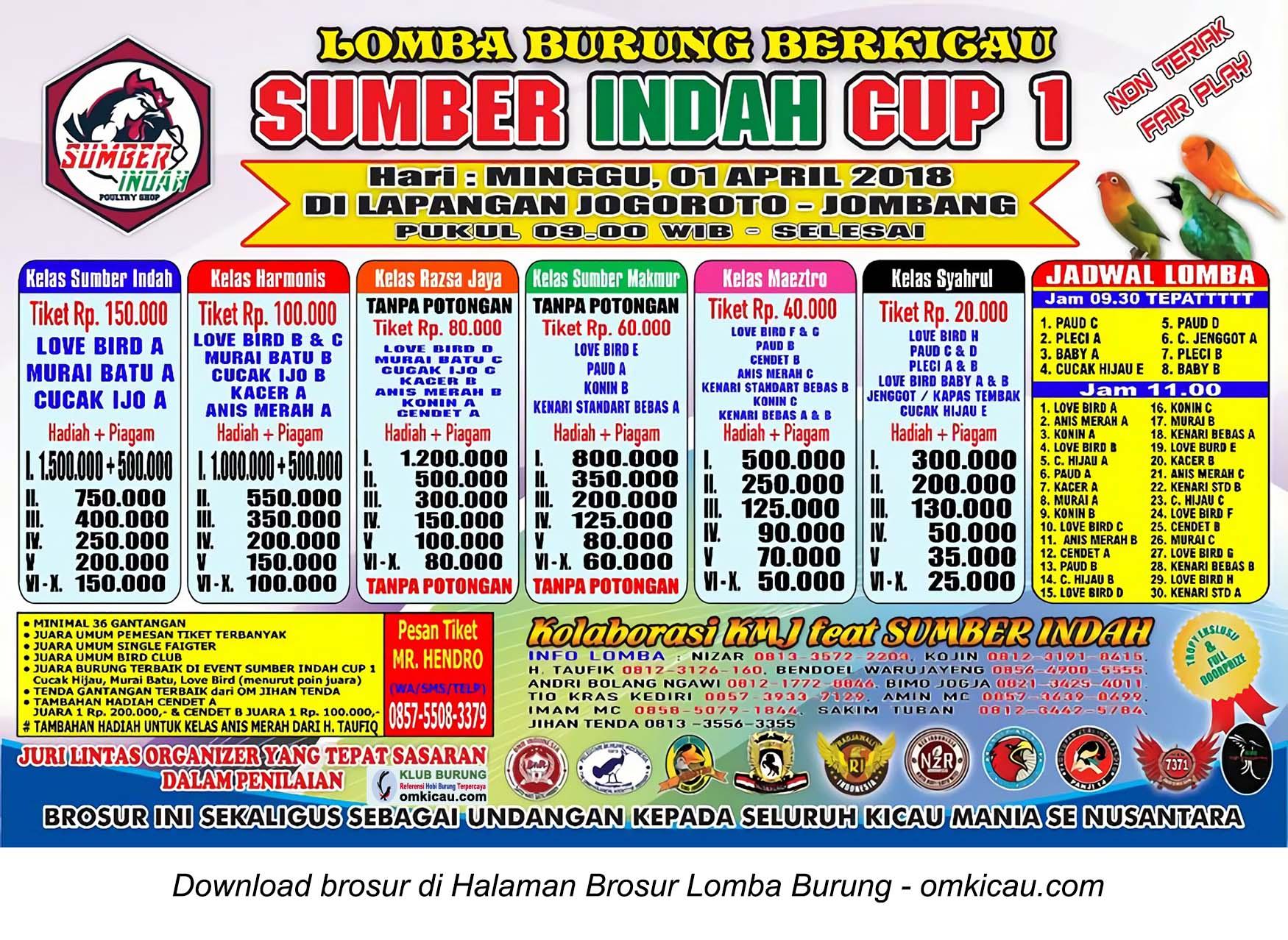 Sumber Indah Cup 1
