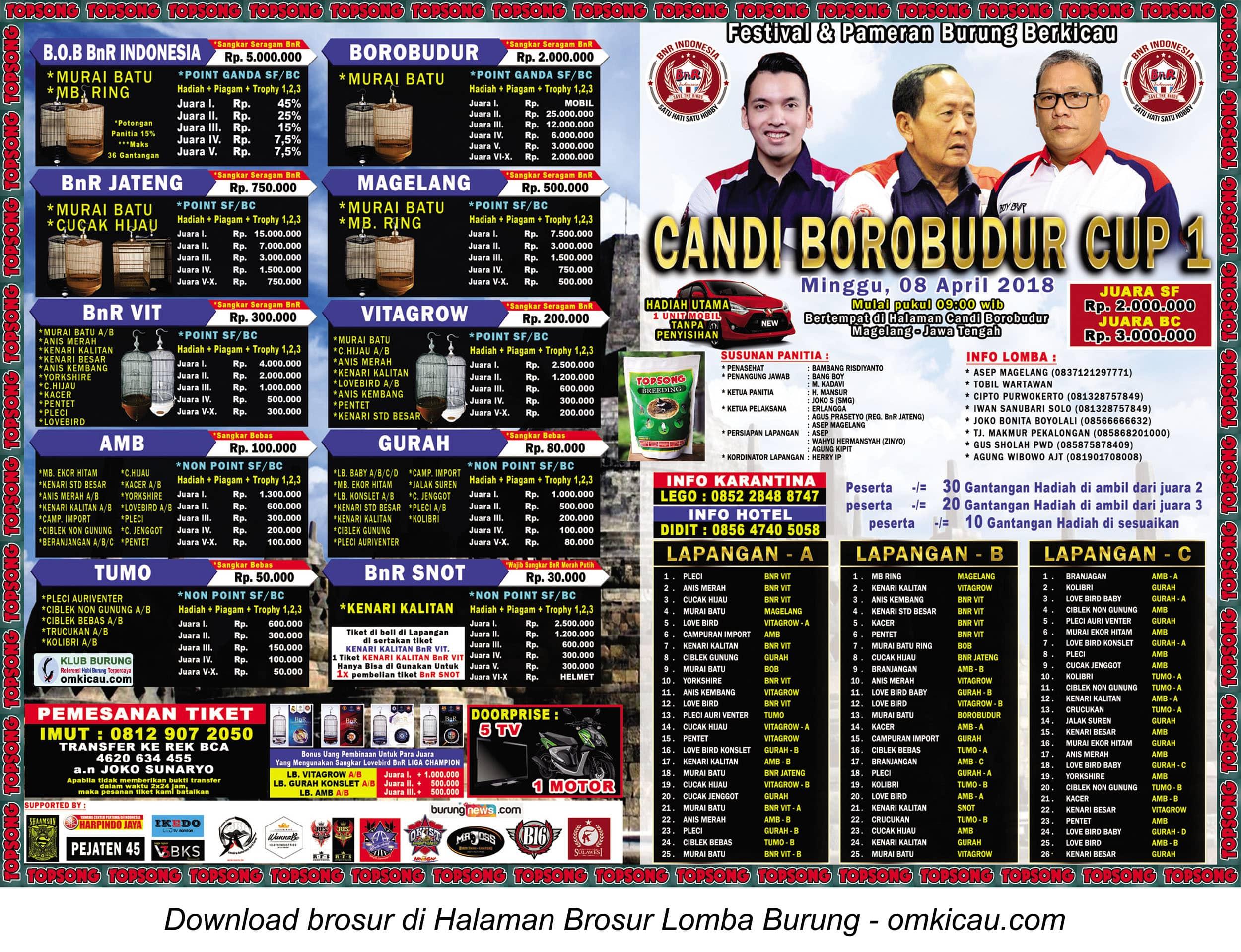 Candi Borobudur Cup 1