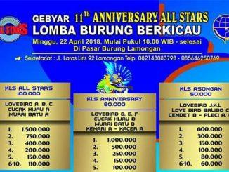 Gebyar 11Th Anniversary All Stars