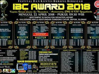 IBC Award 2018