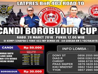 Latpres Road to Candi Borobudur Cup 1