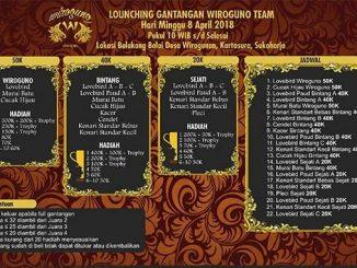 Launching Gantangan Wiroguno Team