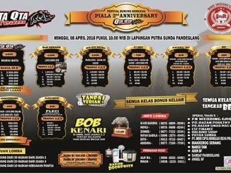 Piala 2nd Anniversary QTa QTa Team