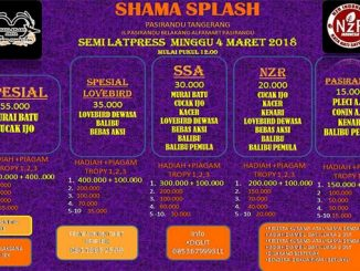 Semi Latpres Shama Splash