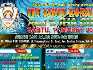 TPC Sabtu Konslet