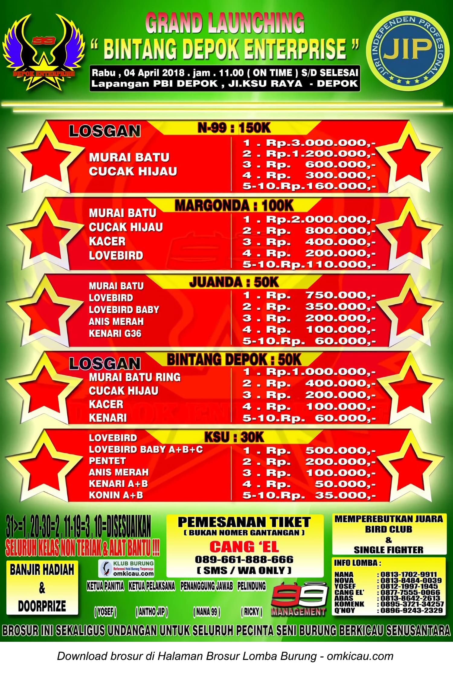 Grand Launching Bintang Depok Enterprise