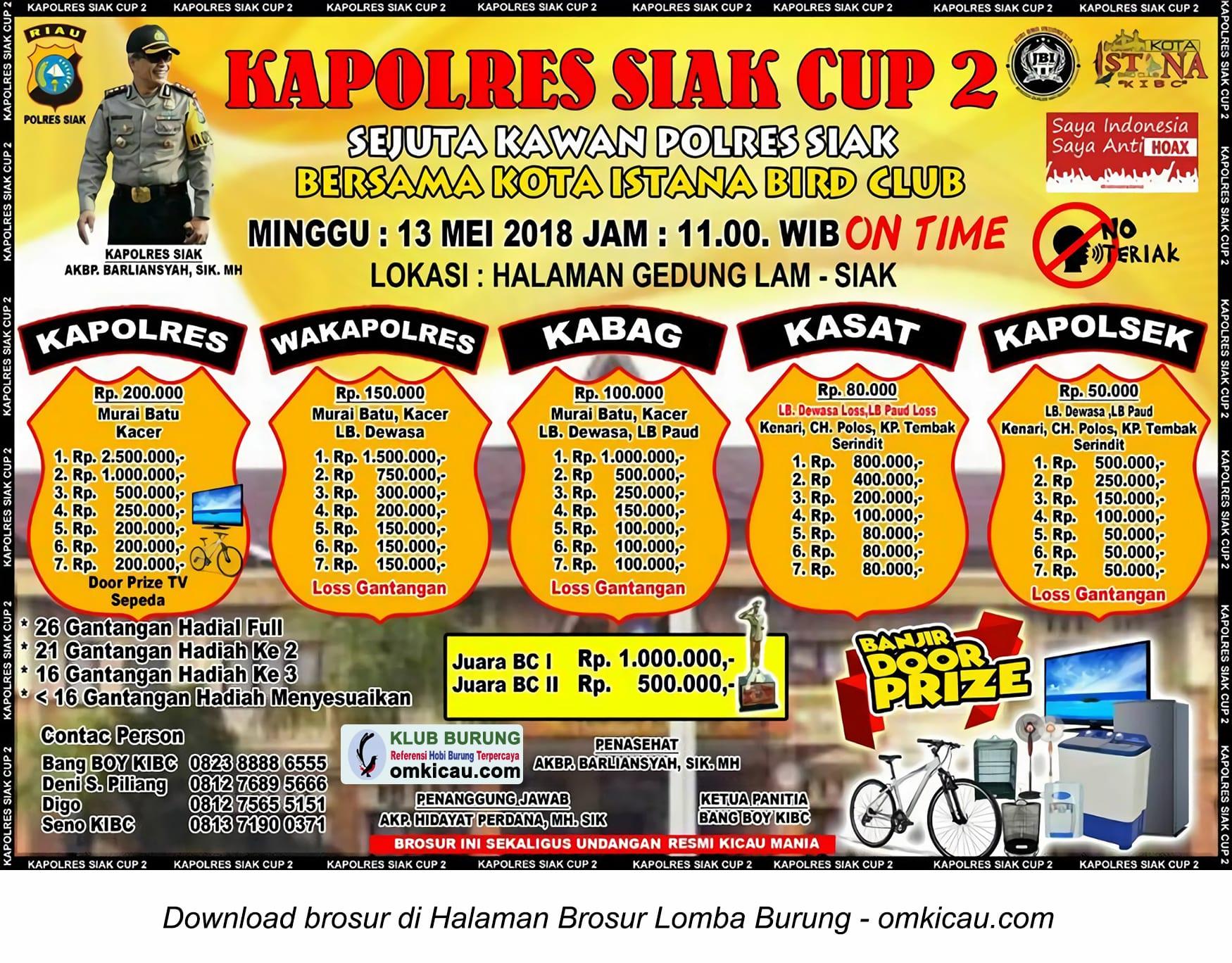 Kapolres Siak Cup 2