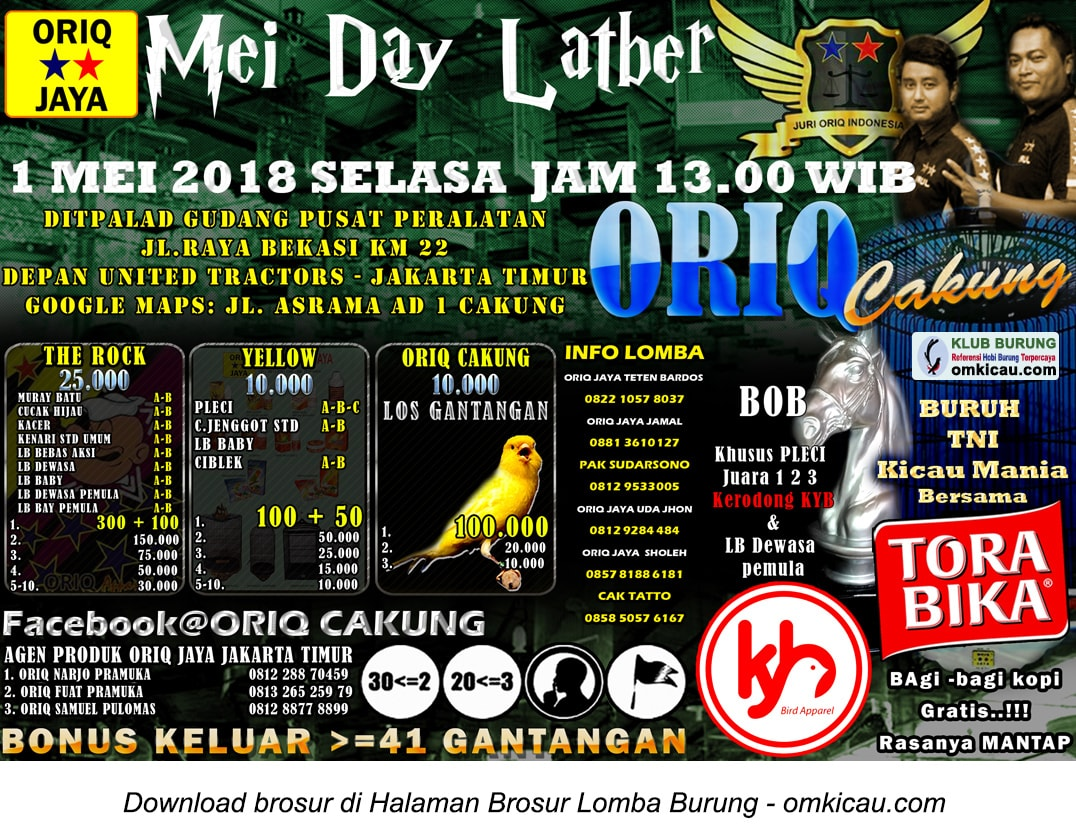 May Day Latber Oriq Cakung