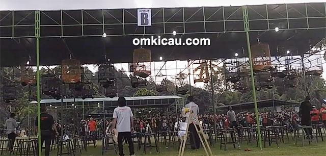 murai batu Mahadewa juara Candi Borobudur Cup 1