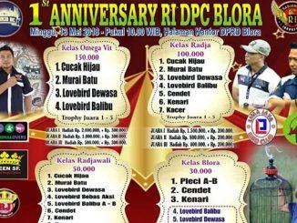 1st Anniversary RI DPC Blora