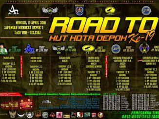 Road to HUT Ke-19 Kota Depok