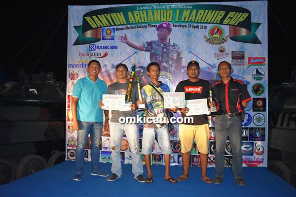 Danyon Arhanud-1 Marinir Cup Surabaya