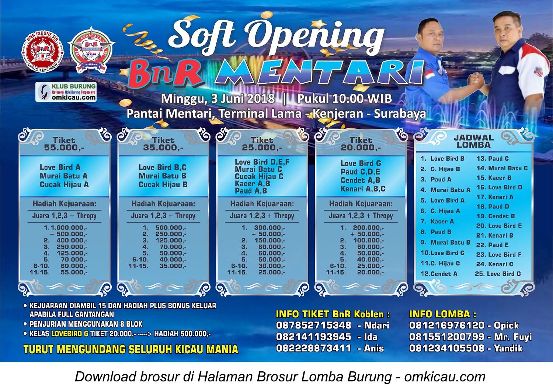 Soft Opening BnR Mentari