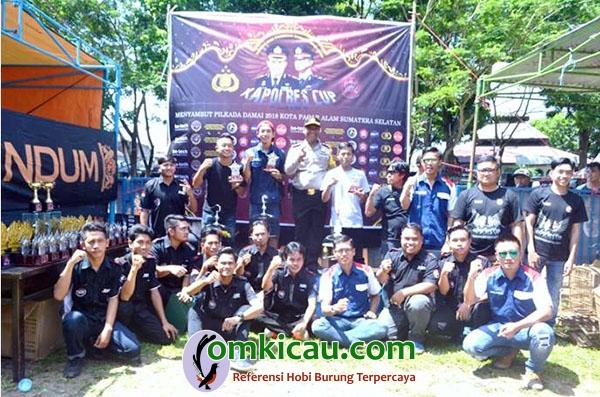 juara Kapolres Cup Pagaralam