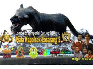 Piala Kapolsek Losarang 2