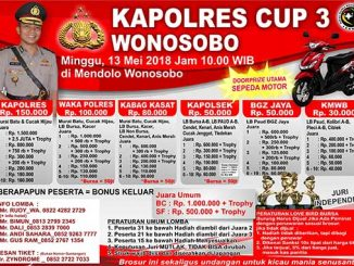 Kapolres Cup 3 Wonosobo