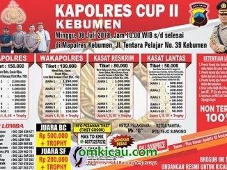 Kapolres Cup II Kebumen