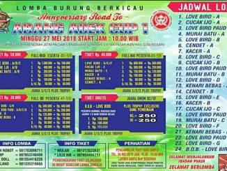 Anniversary Road to Abang Adek Cup