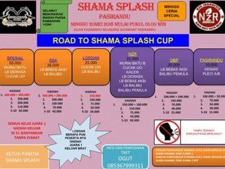 Road to Shama Splash Cup
