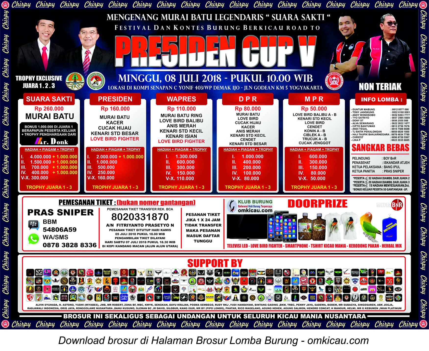 Road to Presiden Cup 5