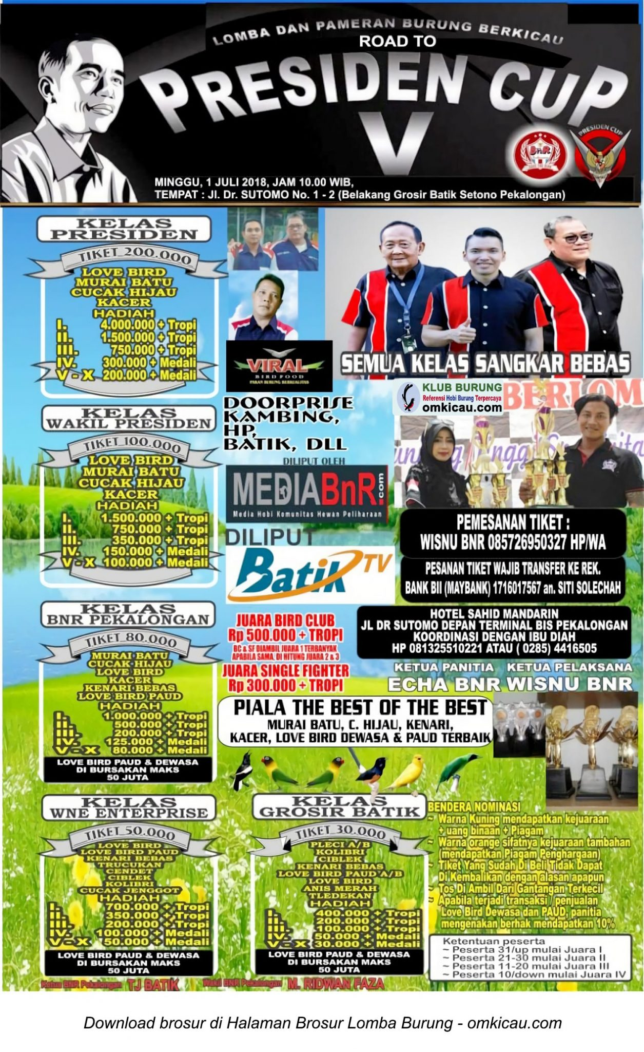 Road to Presiden Cup V