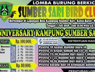 Anniversary Kampung Sumber Sari
