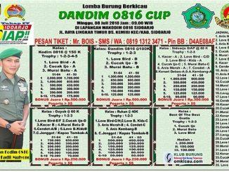 Dandim 0816 Cup