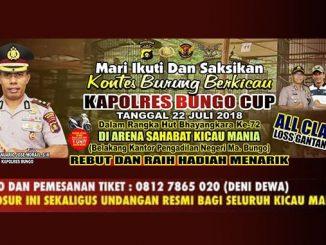 Kapolres Bungo Cup
