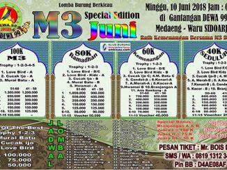 Latpres M3 Dewa 99
