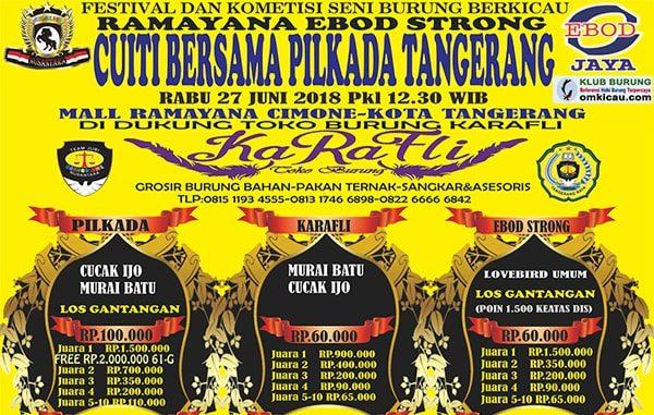 Cuti bersama Pilkada Tangerang