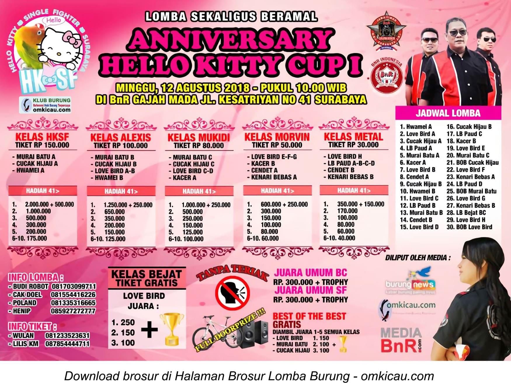 Anniversary Hello Kitty Cup I