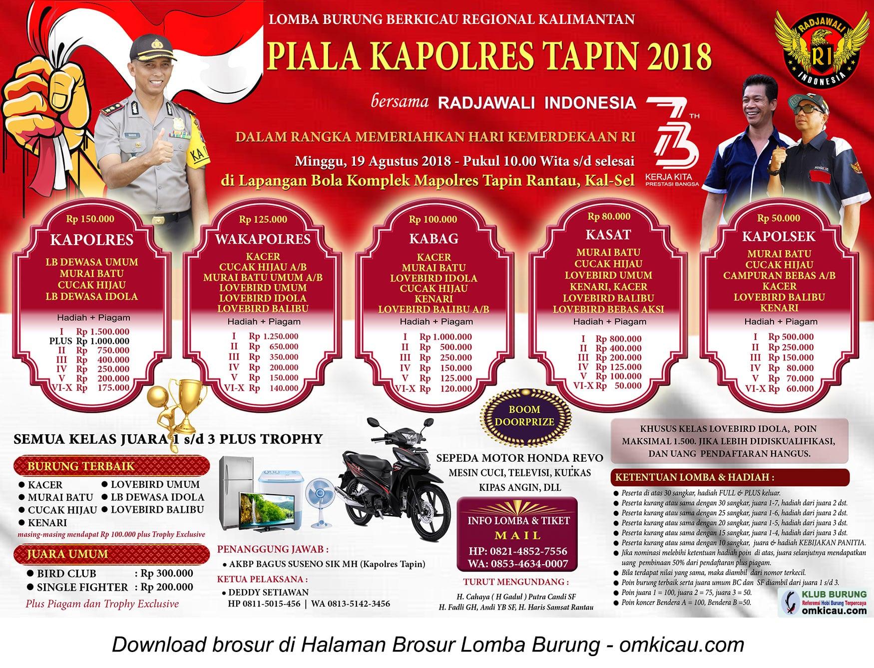 Piala Kapolres Tapin