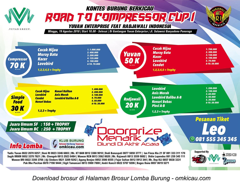 Road to Compressor Cup I